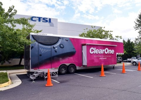 ClearOne Connection Tour Trailer at CTSI