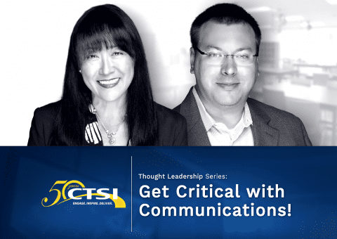 Get Critical with Communications!