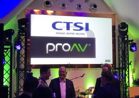 CTSI Honored as SHURE AV Innovation Partner of the Year