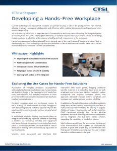 Download Hands-free Whitepaper